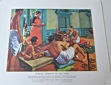 Medical Art-Susruta  Surgeon of Old India Vintage  Ltd Ed 16x13
