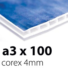 100 x Correx Sign Boards | 4mm A3 | Printed UV Full Colour