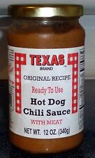 Texas Hot Dog Sauce with MEAT for Coney Dogs,Texas Hots,(3 PACK) Ready To Serve