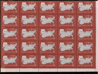 Sowjetunion, Beschlüsse des 23. Parteitages der KPdSU MiNr. 3273 Bogen, 1966**