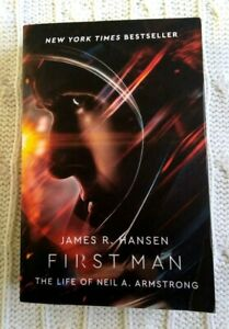 FIRST MAN : THE LIFE OF NEIL A. ARMSTRONG- LIKE NEW-FREE POST WITH TRACKING