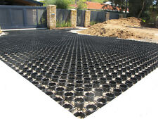 GrassRing Plastic Grass Paver - Made with Recycled Plastic, 400t load per sqm