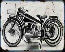 Bmw R 37 A4 Photo Print Motorbike Vintage Aged