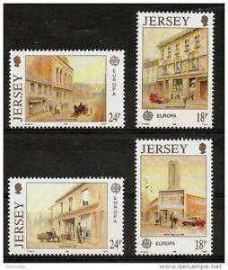 Jersey 1990 Mi. 508/11 ** postfrisch