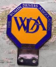 Old Vintage Car Mascot Badge  : The Women Drivers Association No 2822 by Pinches