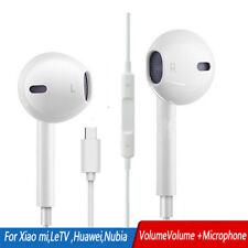 USB-C Type-c Earphone In-Ear W/Microphone Headset Deep Bass&HIFI Stereo Earbuds