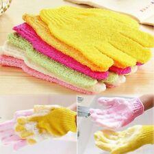 Bath Shower Gloves Soft Skin Body Scrubs Glove Exfoliating Cleaning Mitten *4x