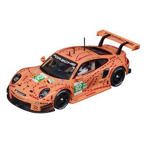 """Carrera EVO 1:32 Porsche 911 RSR """"No.92 Pink Pig Design"""" suit scalextric"""
