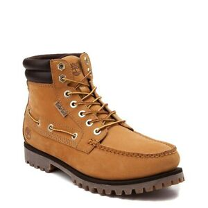 NEW Mens Timberland Oakwell Boot Wheat Full-Grain Leather
