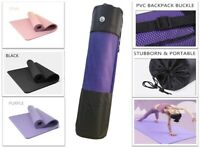 61x  185cm Yoga Mat 15mm Thick Gym Exercise Fitness Pilates Workout Mat Non Slip
