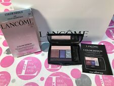 LANCOME Color Design Eye Brightening 5 Shadow & Liner #308 VIOLET MAGNETIQUE NIB