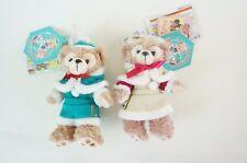Tokyo Disney SEA Duffy Plush Badge Christmas 2016 Duffy & ShellieMay Tag