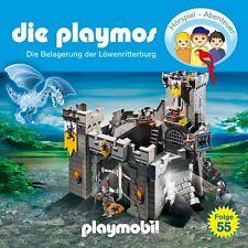 CD * DIE PLAYMOS - Folge 55 - Die Belagerung der Löwenritterburg # NEU OVP &