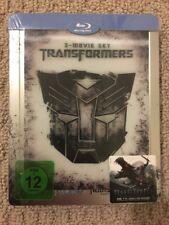 Transformers Trilogy Blu-Ray Region Free SteelBook with Lenticular magnet