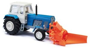 Busch 8697 Tt Gauge Tractor With Snow Thrower # New Original Packaging #