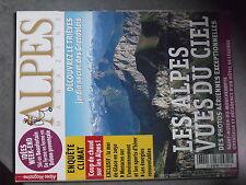 $$ Revue Alpes Magazine N°68 Alpes vues du ciel  Trieves  mer de glace 2050