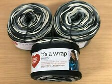 Red Heart It's a Wrap Hues - Grey, Brown, Black Multi Stranded Yarn Cakes - 450g