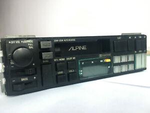 Vintage Alpine 7245Th Cassette Radio Stereo Old School  RARE