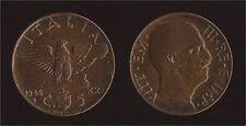 5 CENTESIMI 1942 IMPERO - VITTORIO EMANUELE III FDC/UNC FIOR DI CONIO