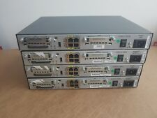 4 X CISCO 1841 ISR ROUTER IDEAL FOR CCNA CCNP CCIE LAB