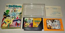 Flintstones w/ reg card FC Famicom Japan nintendo excellent condition in France