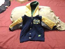 Official Infant John Deere Hoodie Jacket 18 Months Near Mint Sewn Letters & Log)