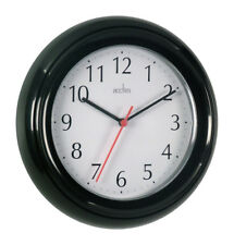 Acctim Ck1413 Wycombe Wall Clock Black