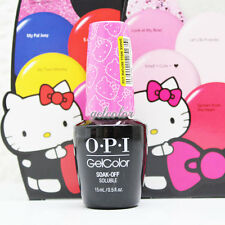 OPI GELCOLOR Soak Off UV LED Gel Polish 0.5oz / 15ml HELLO KITTY COLLECTION 2016