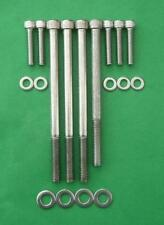 ROVER V8 REBUILD stainless steel cap head KITS SD1 LAND ROVER TVR RANGE ROVER