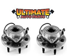 Front Wheel Bearing Hubs 4x4 (Pair) for 99-07 Chevy Silverado 1500 (6 Lug)