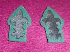 A Pair of WW1 British Army Scout Badges,Rifle Brigade,Royal Irish Rifles.REPRO.