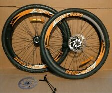 """26""""  MTB Wheels with 7 speed cog✓ tyre tube✓ reflector✓ disc ✓quick release oran"""