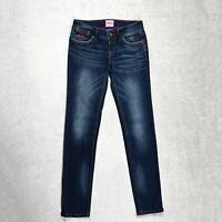 Womens SUPERDRY Cigarette Slim Jeans Size W28 L32 Stretch denim dark blue Skinny