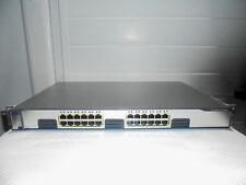 Cisco WS-C3750G-24T-S Interruptor 24 puertos Ethernet 10/100/1000 Gigabit Ccie Lab