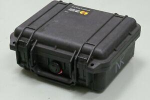 Pelican 1200 GUN/Camera Case Black w/ FOAM*NICE*