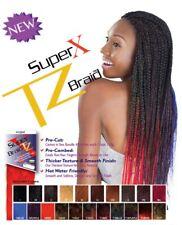 "NEW Supreme Synthetic SUPER X TZ Braid Hair for Braiding 48"" Braided 2 Bundles"