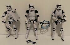 "Hasbro Star Wars Black Series 6"" Stormtrooper Lot Of 3"
