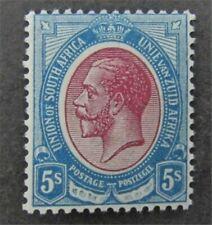 nystamps British South Africa Stamp # 14 Mint OG H $145