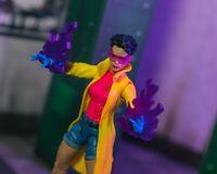 Jubilee Purple Hand Powers/Flames x2 EFFECTS ONLY Marvel Legends 1/12