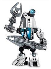 LEGO Bionicle Matoran KAZI #8722 : Complete Figure w/ RARE Blue Eye Lens