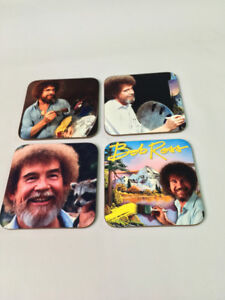 Bob Ross Great Artist COASTER Set