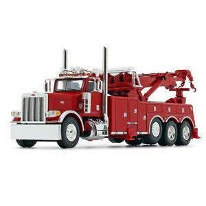 DCP VIPER RED WRECKER PETERBILT 389 36 SLEEPER MILLER 1150 ROTATOR 1/64 60-0881