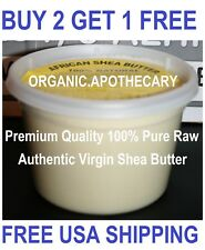 GRADE A 16 oz PURE Raw Organic Natural African SHEA BUTTER Unrefined Virgin 1 Lb