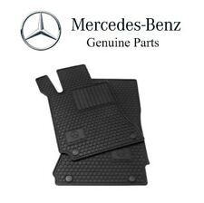 NEW Mercedes R171 SLK-Class All Season Black Rubber Floor Mats Genuine Q6680700