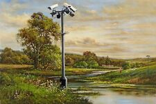 QUALITY BANKSY ART PHOTO PRINT (CCTV)
