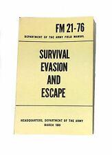Survival, Evasion, Escape Manual Fm 21-76 dated 1969