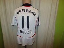 FC Bayern München Adidas Auswärts Trikot 2006/07 + Nr.11 Podolski Gr.S- M