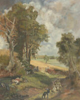 J. Coy - After Constable 20th Century Oil, The Cornfield