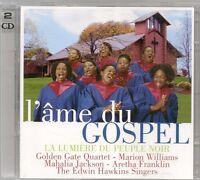 2 CD COMPIL 30 TITRES--L'AME DU GOSPEL--WILLIAMS/JACKSON/FRANKLIN/HAWKINS SINGER
