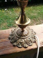 Nice Vintage Solid Brass/Bronze Lamp
